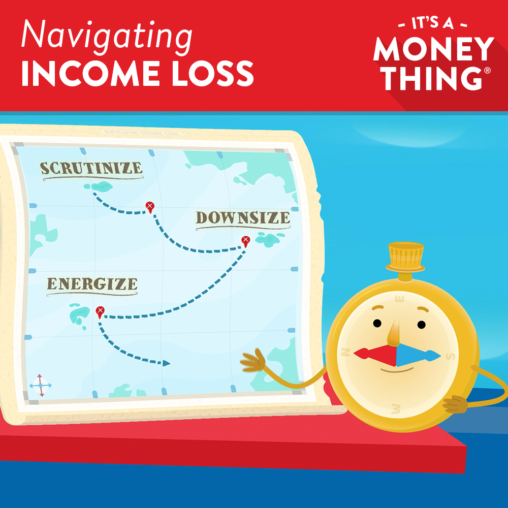 Navigating Income Loss - It's A Money Thing Lesson icon
