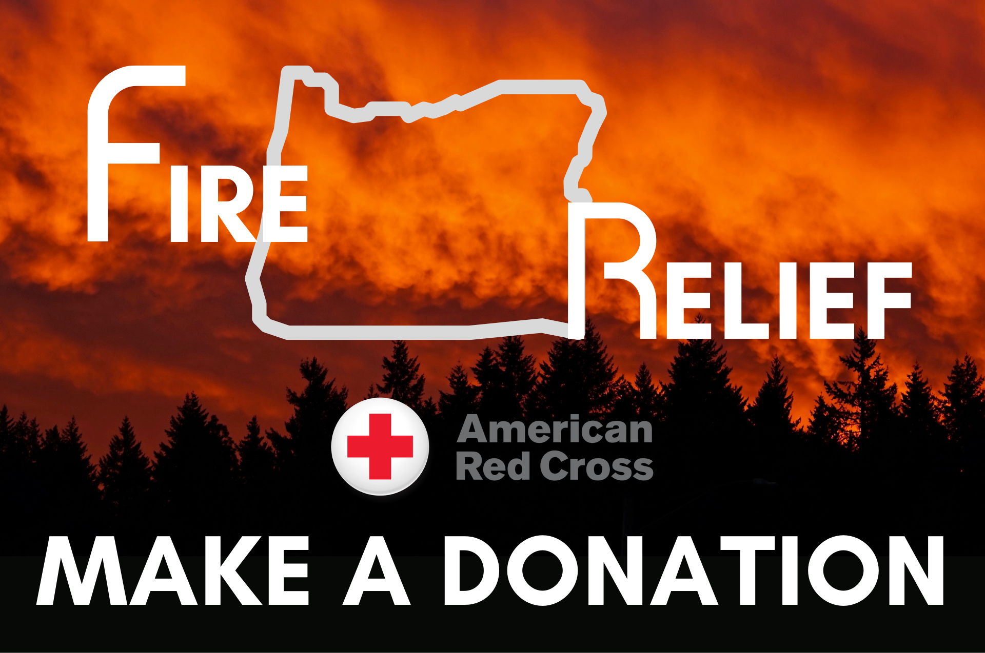 Fire Relief American Red Cross Fundraiser