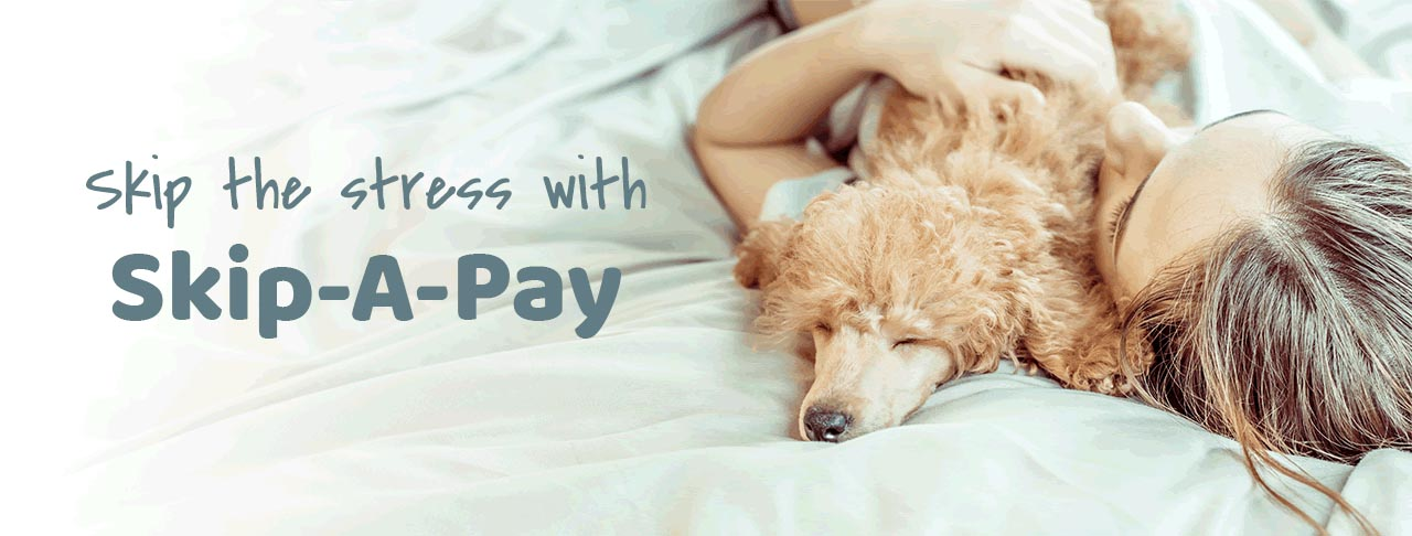 Learn more about Holiday Skip-A-Pay