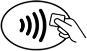 Mobile Payments pay symbol