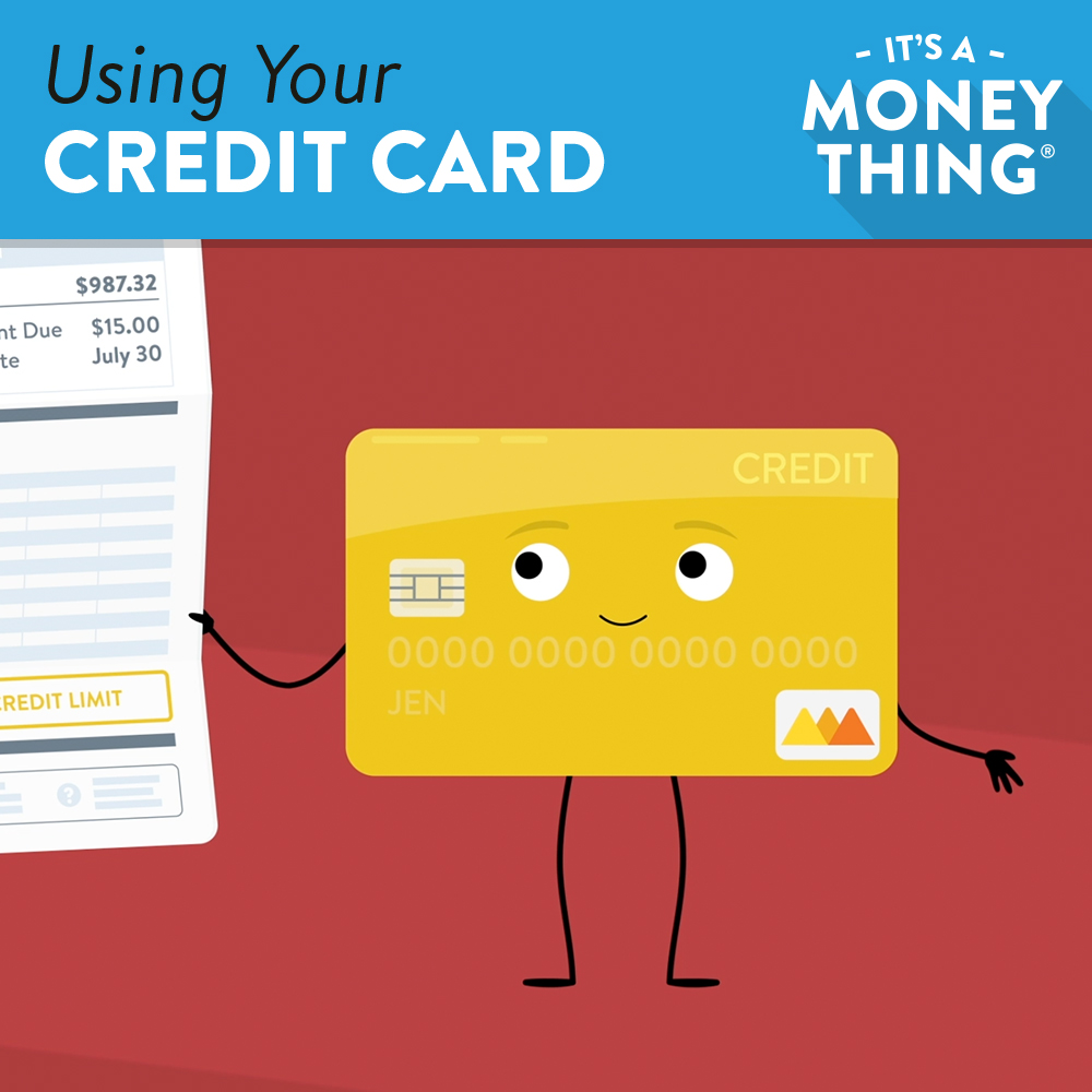 Using Your Credit Card IAMT