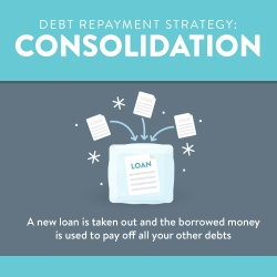 Debt Repayment Mountain