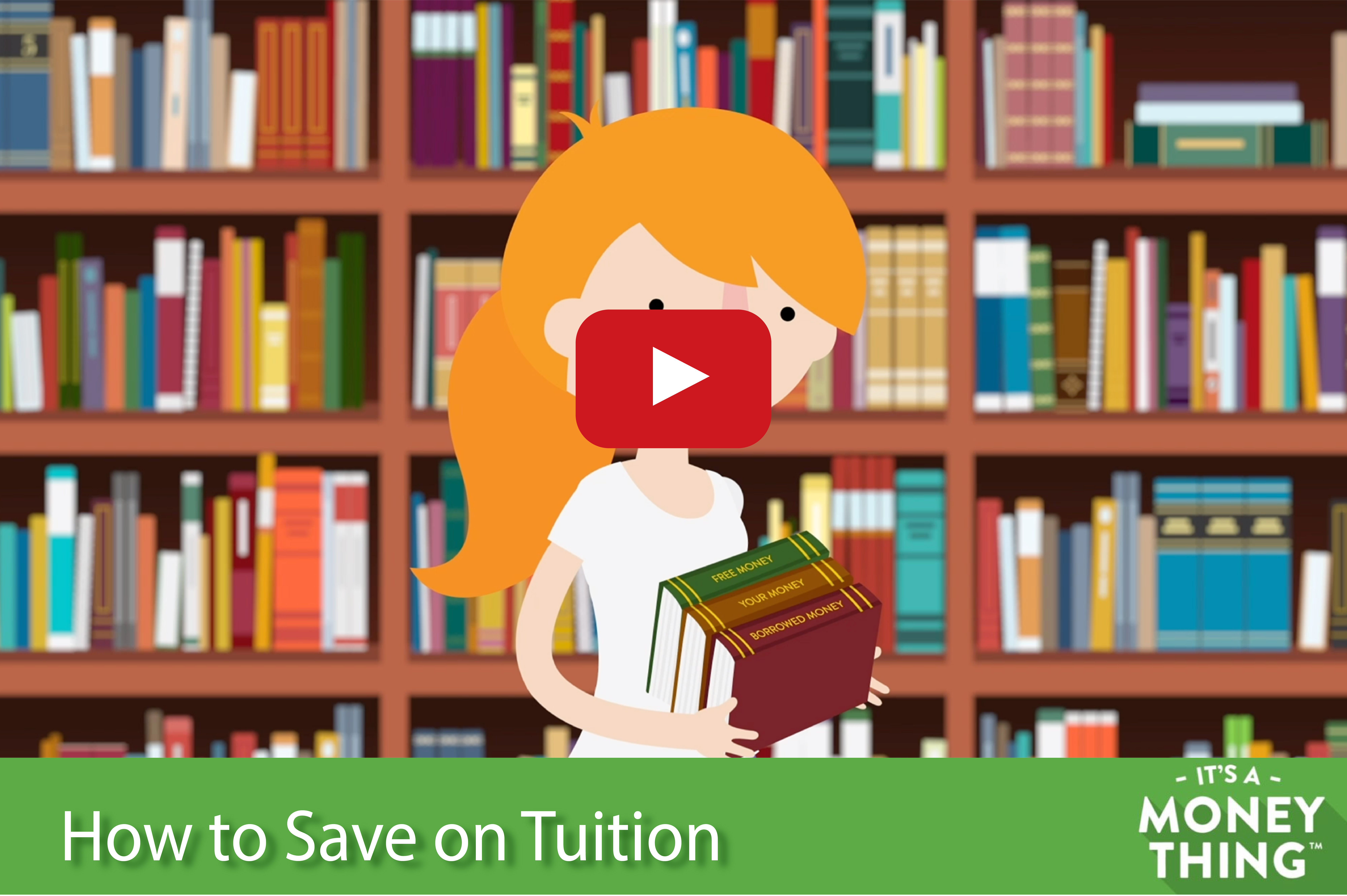 How to Save on Tuition | It's a Money Thing