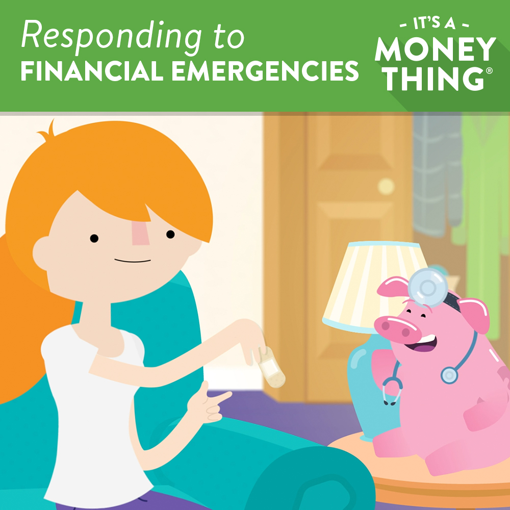 Responding to financial emergencies It's A Money Thing Image