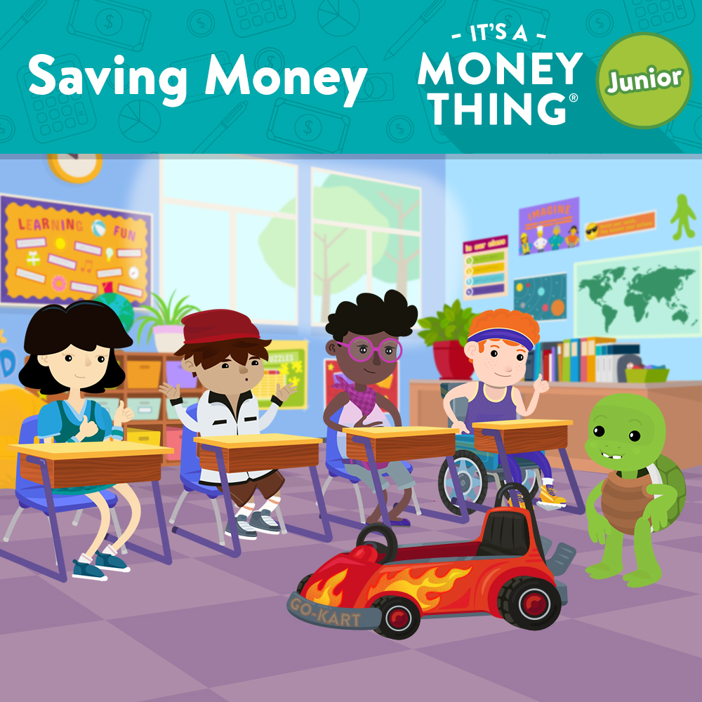 Saving Money - IAMT Junior