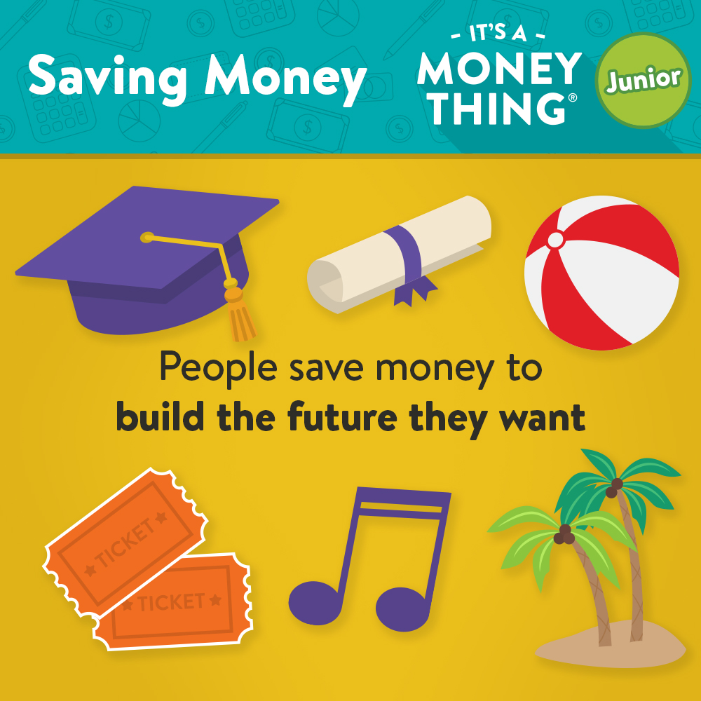 Saving Money IAMT - People save money to build the future they want