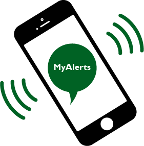 sign up for text message alerts