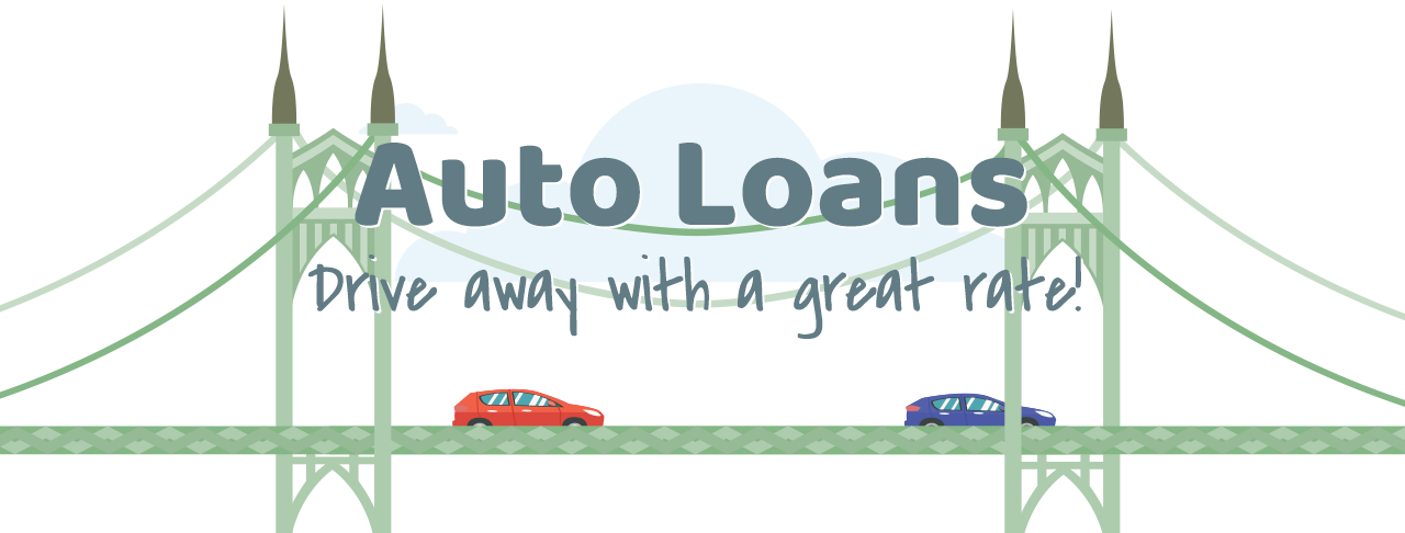 Drive away with a great Auto Loan rate!