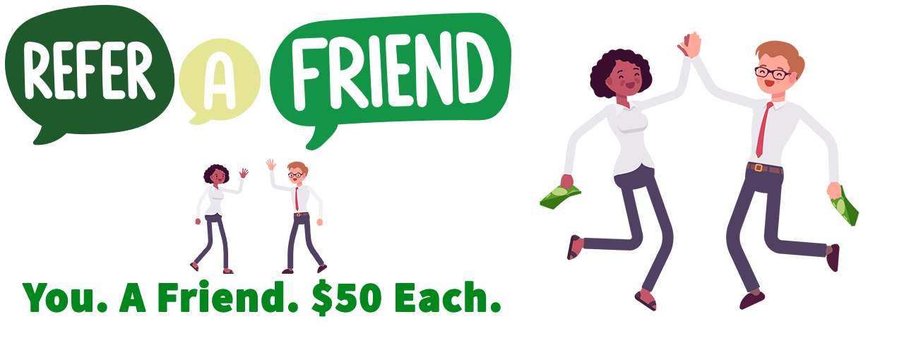 Oregonians Refer a Friend Banner