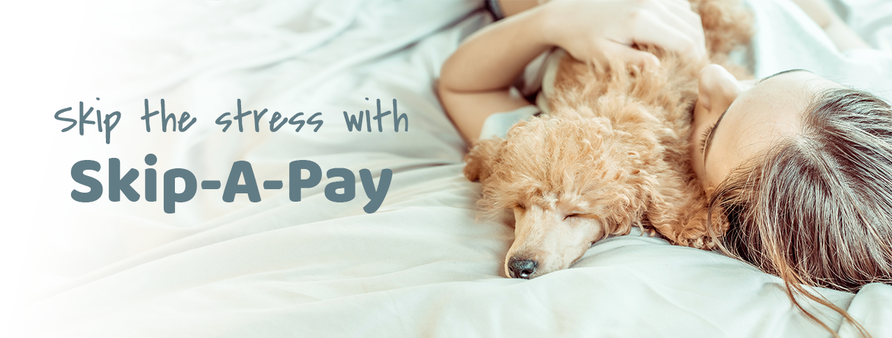 Learn more about Skip-A-Pay
